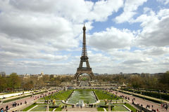 Paris. The Eiffel Tower in Paris Royalty Free Stock Photo