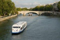 Paris. River seine pont neuf ile de la cite paris france europe Stock Photography