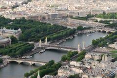 Paris #2. City view from Eiffel Tower. Paris, France Stock Photo