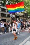 Paris 2009 homoseksualnych dum Zdjęcie Royalty Free
