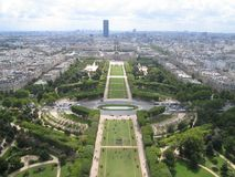 Paris. Nice wiev from eifel tower Royalty Free Stock Image