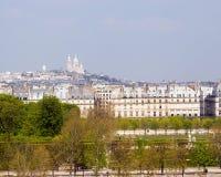 Paris. View of the Basilica of the Sacre Cœur on Montmartre, Paris, France Stock Photo