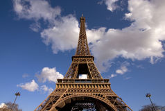Paris. The Eiffel Tower in Paris Stock Image