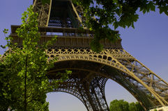 Paris 4 - Eiffel Tower Stock Photo