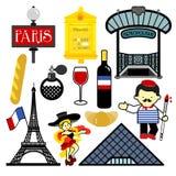 paris stock illustrationer