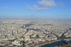 Paris aérien - 1283 Photos libres de droits
