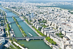 Paris from above Stock Photos