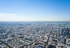 Paris from above Royalty Free Stock Image