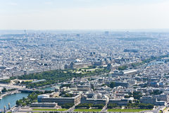 Paris from above. Stock Photography