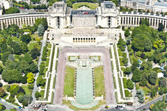 Paris from above. Royalty Free Stock Photos