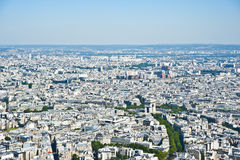 Paris from above. Stock Images