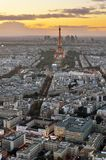 Paris from above. Stock Image