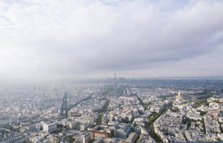 Paris from above pt1 Stock Photos