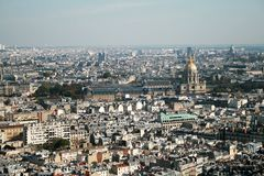 Paris aerial Stock Images