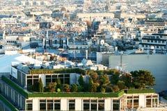 Paris aerial Royalty Free Stock Photos