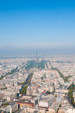Paris aerial view Royalty Free Stock Image