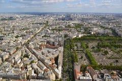 Paris aerial view Royalty Free Stock Photo