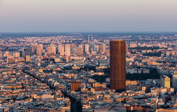 Paris- aerial view Royalty Free Stock Photography