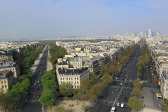 Paris Aerial View Royalty Free Stock Images
