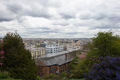 Paris. Aerial view of the city. Royalty Free Stock Image