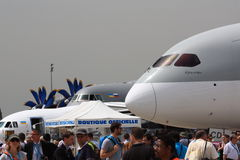 Paris Air Show Royalty Free Stock Image