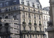 Paris - allant au théâtre Photos stock