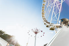 Paris amusement park Royalty Free Stock Photography