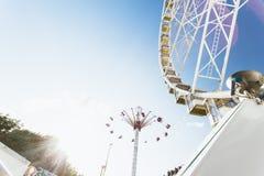 Paris amusement park Royalty Free Stock Photography