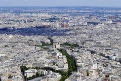 Paris-Ansicht, Frankreich lizenzfreies stockfoto