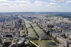 Paris-Ansicht, Frankreich stockbilder