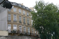 Paris-Ansicht vom Fluss Lizenzfreie Stockfotografie