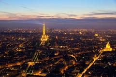 Paris antenn Royaltyfri Foto
