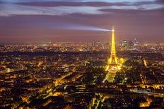 Paris antenn Arkivfoto
