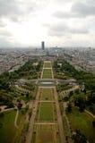 Paris antennpanorama Fotografering för Bildbyråer