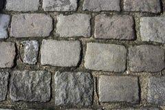 Paris-antiker Gehweg Stockbilder