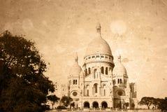 Paris antiquado france Fotos de Stock Royalty Free