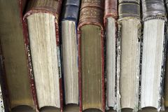 Paris antique books Stock Photo