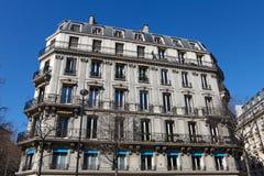 Paris Apartment block Stock Photos