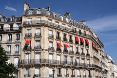 Paris,apartment building Royalty Free Stock Photo