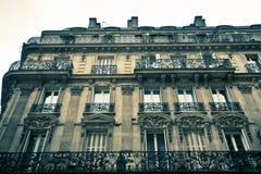 Paris Apartment Building Royalty Free Stock Photography