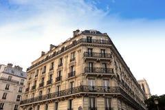 Paris Apartments block Stock Photography