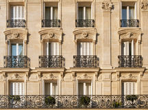 Paris apartments Stock Images