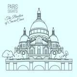 Paris aperçoit 02 A illustration libre de droits