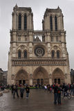 PARIS - APRIL 29: Notre Dame cathedral in Paris, France on April 29, 2011. Stock Photo