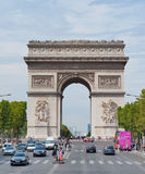 Paris Arc de Triomphe Stock Photography