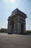 Paris Arc de Triomphe Royaltyfri Foto