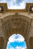 Paris Arc de Triomphe du Carrossel 1 Fotos de Stock Royalty Free