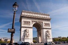 Paris - Arc de Triomphe. Paris - The Arc de Triomphe de l'Étoile Royalty Free Stock Photos