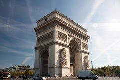 Paris - Arc de Triomphe. Paris - The Arc de Triomphe de l'Étoile Stock Images