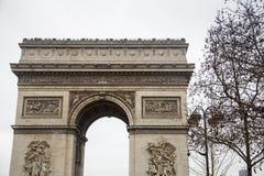 Paris - Arc de Triomphe. The Arc de Triomphe de l`Étoile Stock Image